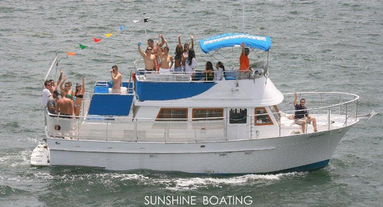Party Boat Yacht Rental In Miami Sunshine Boating