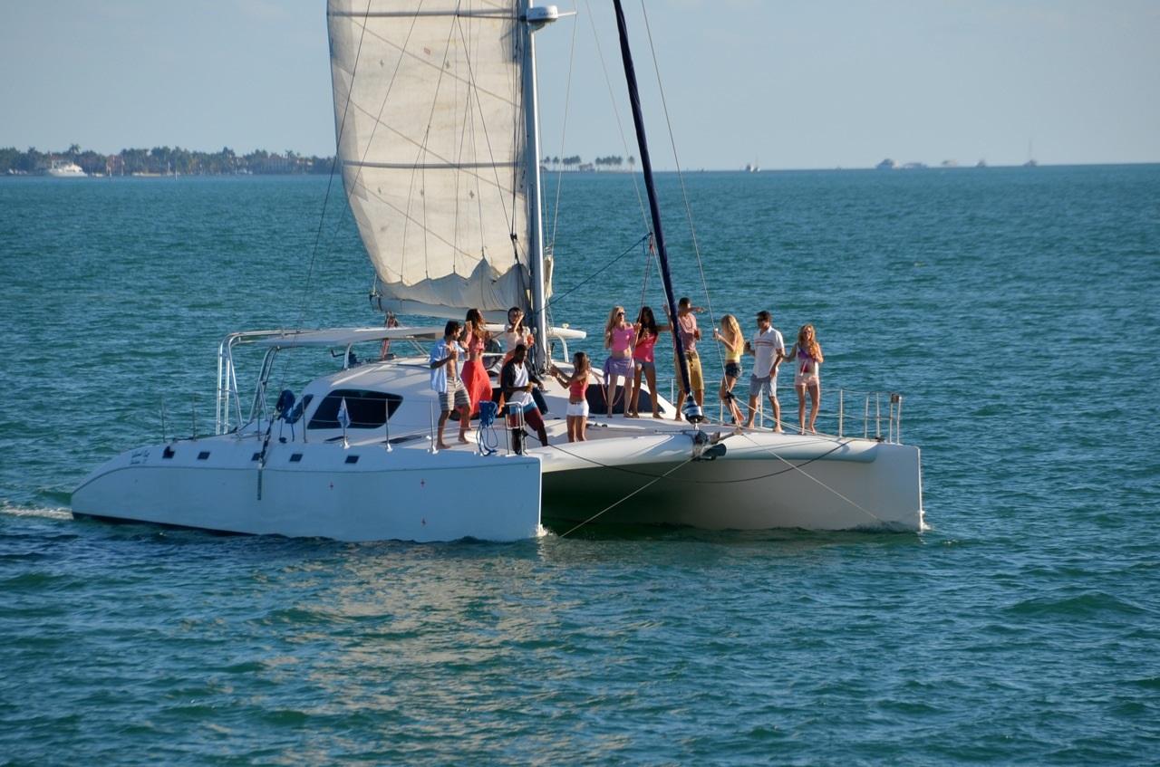 Miami Fl 50 Ocean Cat 12 Guests