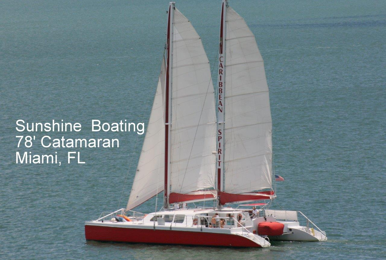 Party Boat & Yacht Rental in Miami | Sunshine Boating