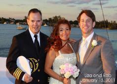 Wedding on Yacht in Miami