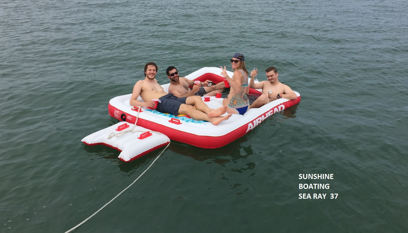 sunshine-boating-sea-ray-37-raft